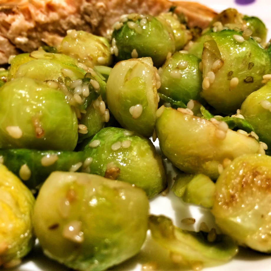 Sprouts are for winter not just for Christmas