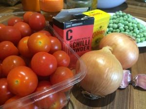 Tomato curry