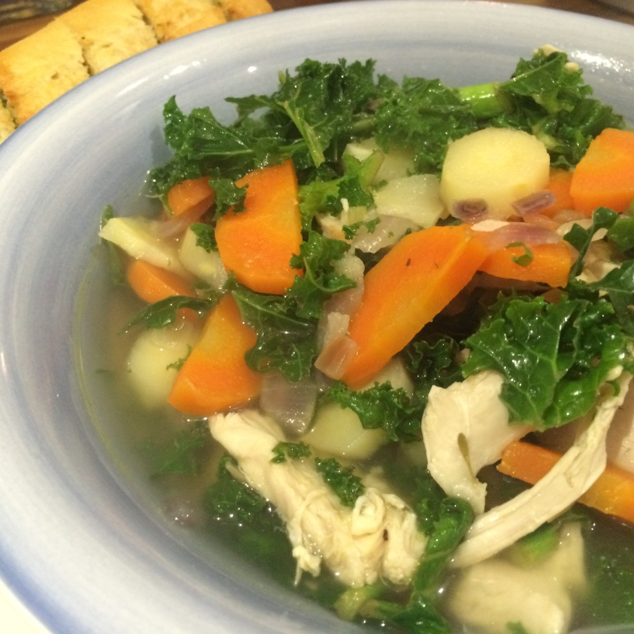 turkey and parsnip soup