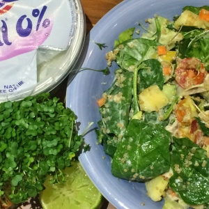 gym super turkey salad