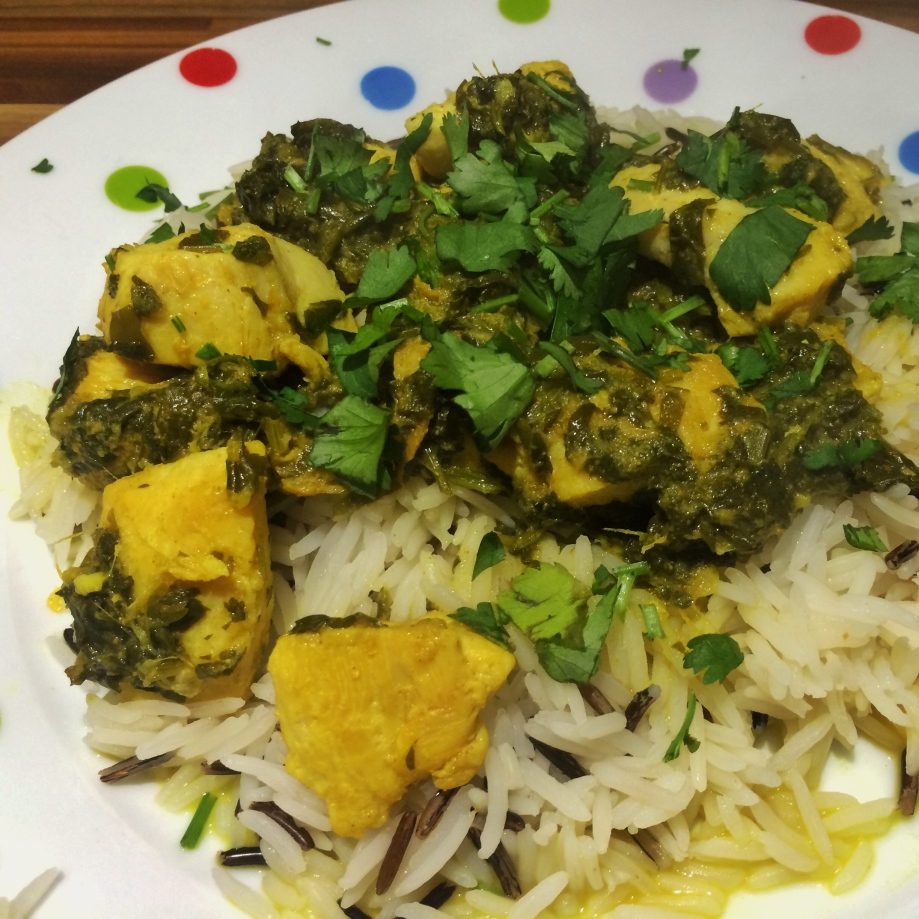 Lemon chicken with ginger and coriander