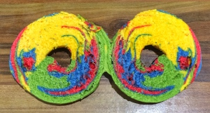 Beigel Shop rainbow beigel rainbow bagel