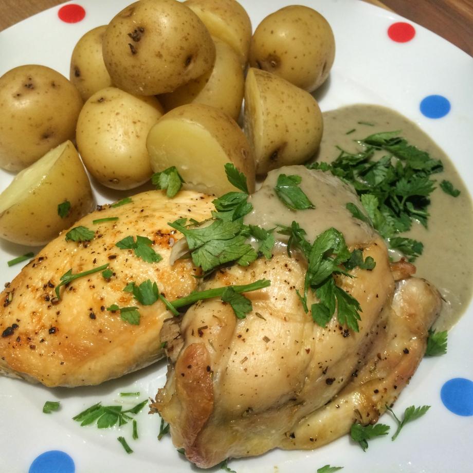 garlic chicken lorraine pascale