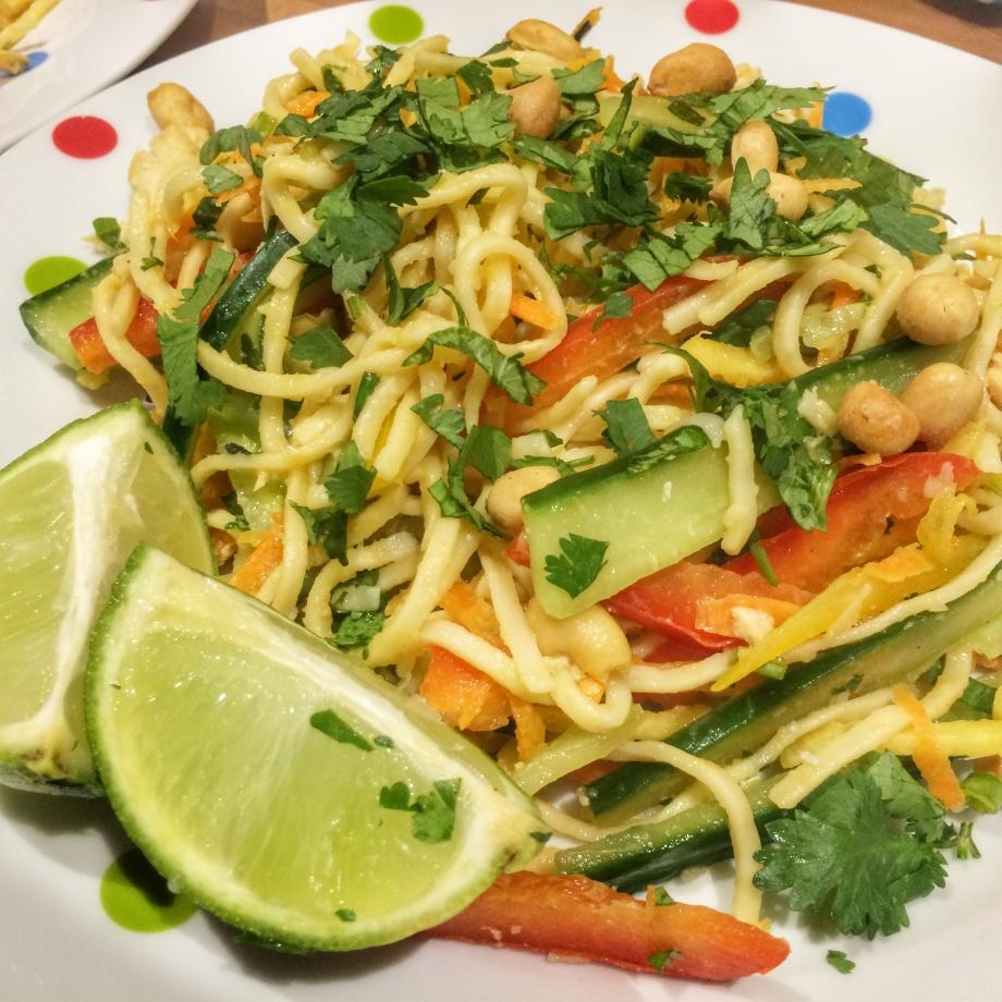 Vietnamese style chicken salad
