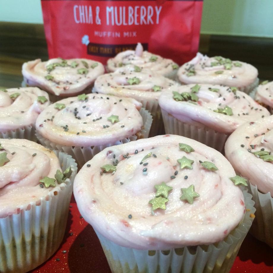 Creative Nature Chia Mulberry Muffins